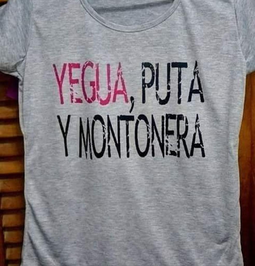 YEGUA, PUTA Y MONTONERA